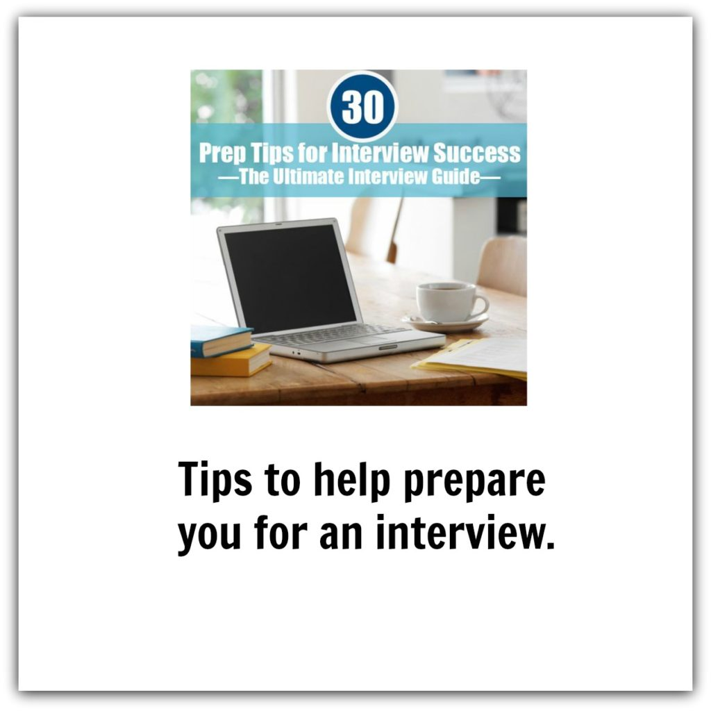 Tips to prepare for interview