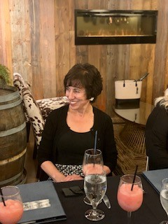 group 12 – erin and kathleen toasting