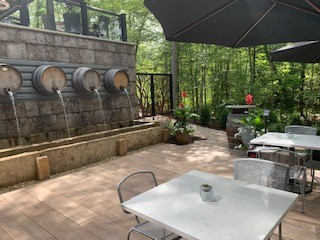 group 9 outdoor patio
