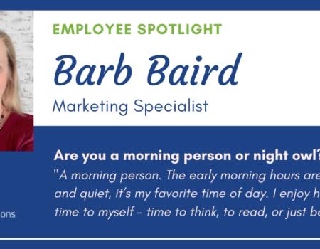 Meet Barb Baird